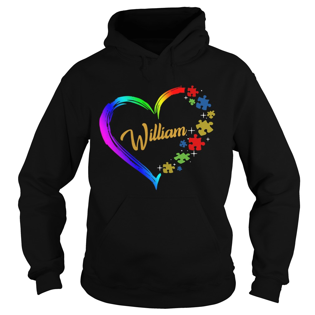 Autism Puzzle Heart Personalized Hoodie