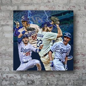 The Los Angeles Dodgers: 2020 World Champs
